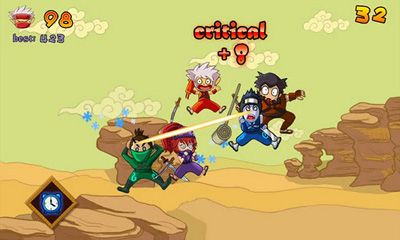 Screenshots do Ninja Girl - Perigoso para tablet e celular Android.