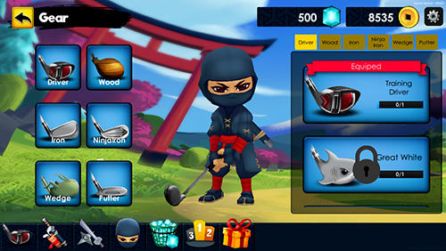 Ninja golf screenshot 2