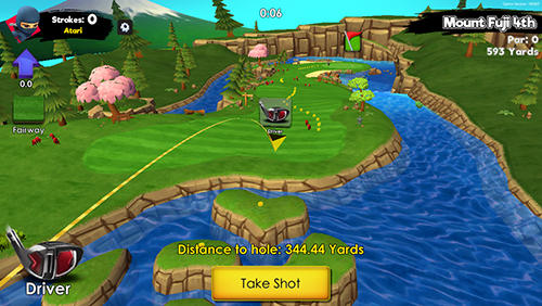 Ninja golf screenshot 3