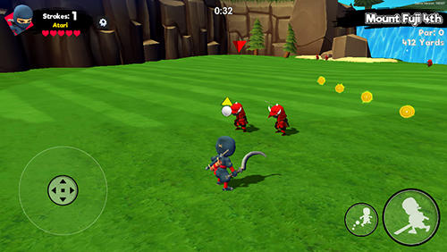 Ninja golf screenshot 4