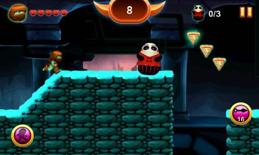 Screenshots von Ninja hero für Android-Tablet, Smartphone.