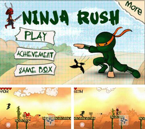 In addition to the game Yoo Ninja Plus for Android phones and tablets, you can also download Ninja rush for free.