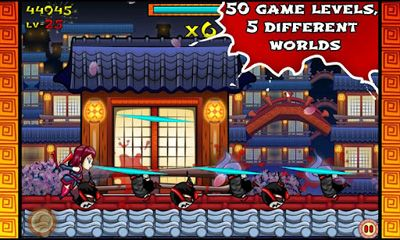 Screenshots von Ninja Slash! für Android-Tablet, Smartphone.