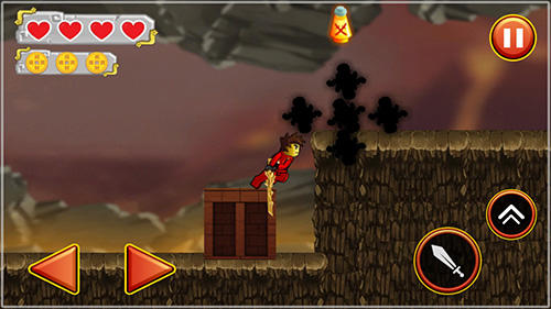 Screenshots von Ninja toy warrior: Legendary ninja fight für Android-Tablet, Smartphone.