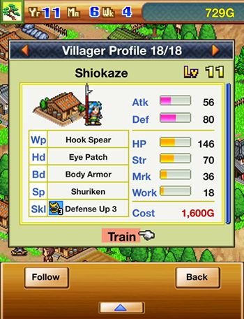 Screenshots von Ninja village für Android-Tablet, Smartphone.