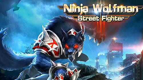 Ninja wolfman: Street fighter обложка
