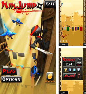 In addition to the game Yoo Ninja Plus for Android phones and tablets, you can also download NinJump for free.