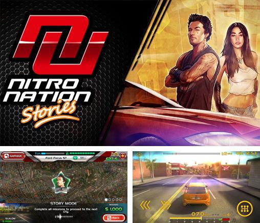 In addition to the game CSR2 for Android phones and tablets, you can also download Nitro nation: Stories for free.