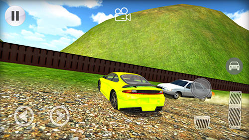 Screenshots von Nitro rivals racing für Android-Tablet, Smartphone.