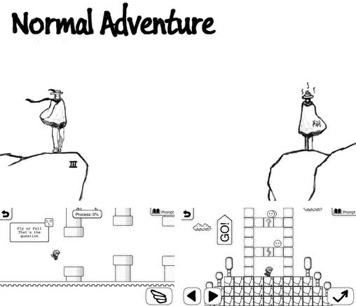 In addition to the game Mount your friends for Android phones and tablets, you can also download Normal adventure for free.