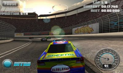 N.O.S. Car Speedrace screenshot 1