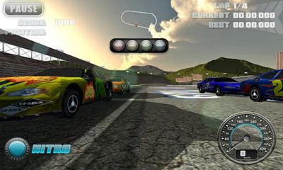 N.O.S. Car Speedrace screenshot 2