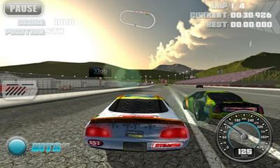 N.O.S. Car Speedrace screenshot 3