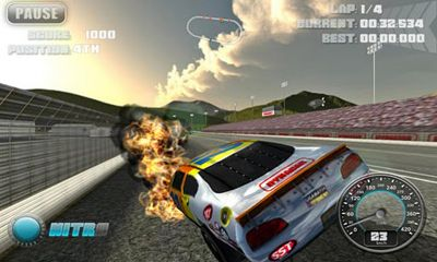 N.O.S. Car Speedrace screenshot 4