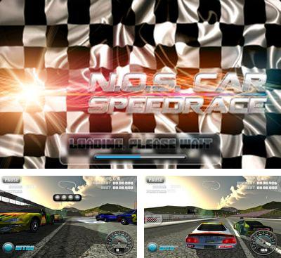 In addition to the game Race 2 for Android phones and tablets, you can also download N.O.S. Car Speedrace for free.