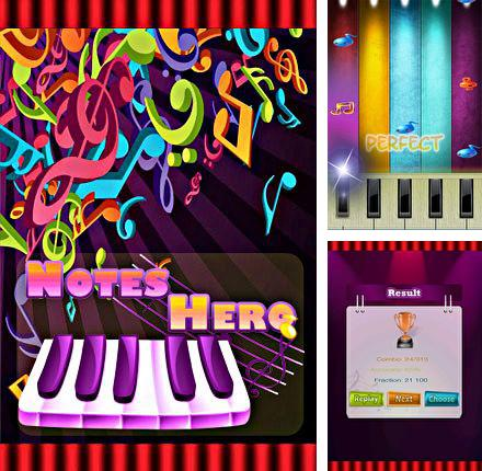 In addition to the game Guitar: Solo for Android phones and tablets, you can also download Notes hero for free.