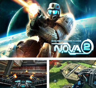 In addition to the game Modern Combat: Sandstorm for Android phones and tablets, you can also download N.O.V.A. 2 - Near Orbit Vanguard Alliance for free.