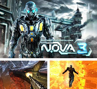 In addition to the game N.O.V.A. Near orbit vanguard alliance for Android phones and tablets, you can also download N.O.V.A. 3 - Near Orbit Vanguard Alliance v1.0.1d for free.