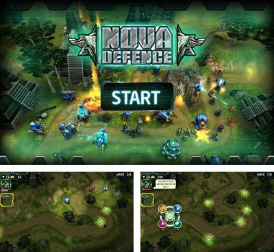 In addition to the game Total Defense 3D for Android phones and tablets, you can also download Nova Defence for free.