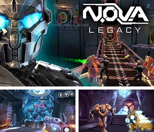 In addition to the game N.O.V.A. Near orbit vanguard alliance for Android phones and tablets, you can also download N.O.V.A. Legacy for free.