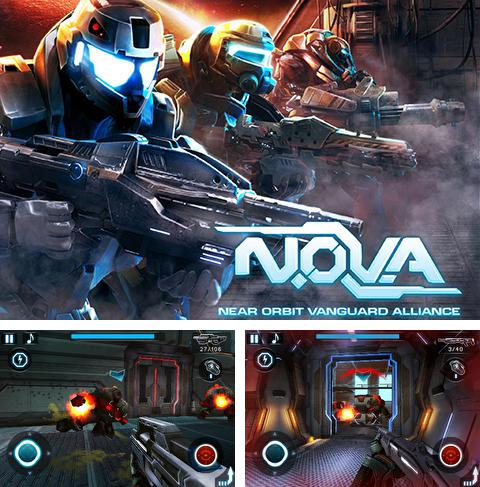 In addition to the game Modern Combat: Sandstorm for Android phones and tablets, you can also download N.O.V.A. Near orbit vanguard alliance for free.