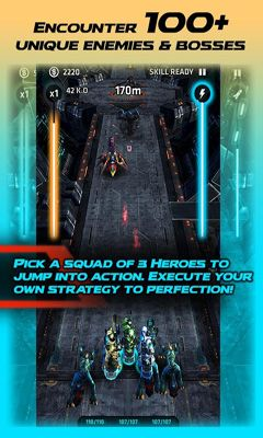 Screenshots do Nova Squad - Perigoso para tablet e celular Android.