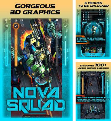In addition to the game Wacky world for Android phones and tablets, you can also download Nova Squad for free.