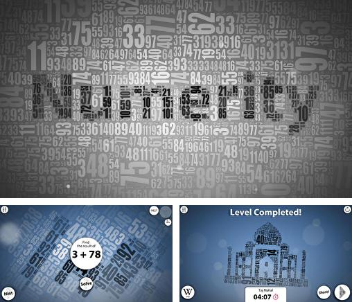 In addition to the game Girl Versus Knives for Android phones and tablets, you can also download Numerity for free.