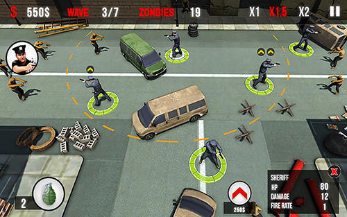 Jogue NY Police: Zombie defense para Android. Jogo NY Police: Zombie defense para download gratuito.