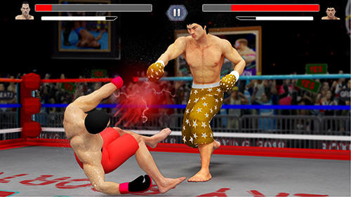 Screenshots of the NY punch boxing champion: Real pound boxer 2018 for Android tablet, phone.