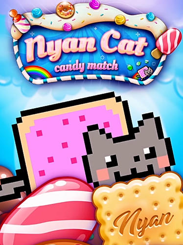 Nyan cat: Candy match poster