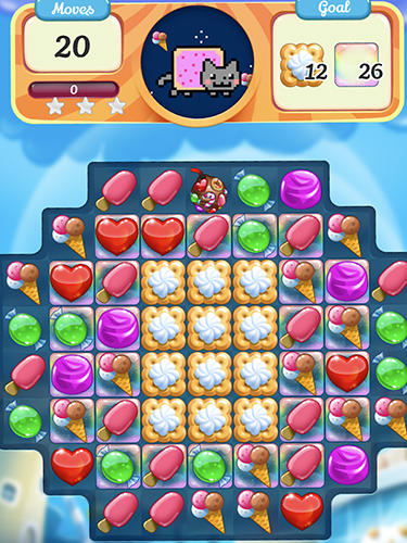 Nyan cat: Candy match screenshot 2