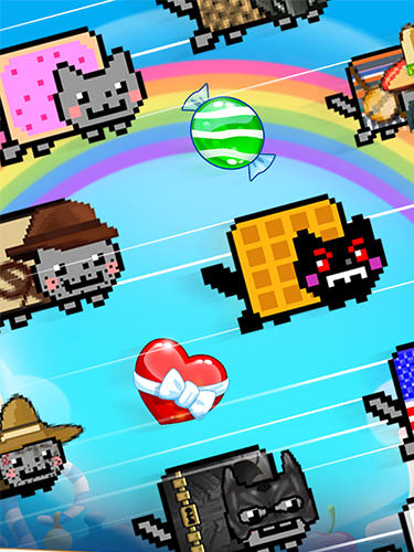 Nyan cat: Candy match screenshot 5
