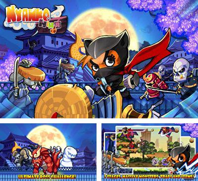 In addition to the game Quests & Sorcery for Android phones and tablets, you can also download Nyanko Ninja for free.