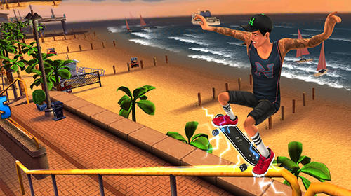 Screenshots von Nyjah Huston: Skatelife für Android-Tablet, Smartphone.