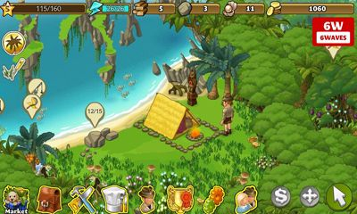 Screenshots of the Oasis The Last Hope for Android tablet, phone.