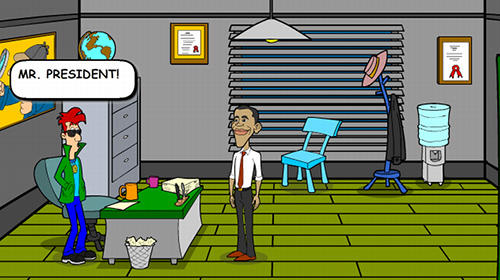 Obama and Cody: The mysterious island. Saw game screenshot 3