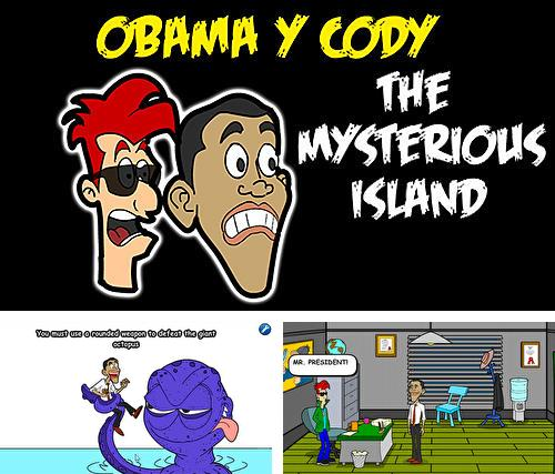 Obama and Cody: The mysterious island. Saw game