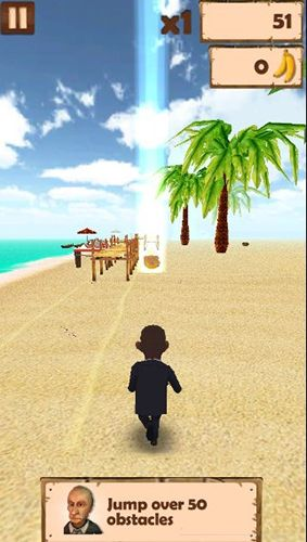 Download Obama run: Rush and escape Android free game.