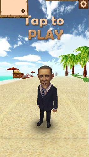 Capturas de pantalla de Obama run: Rush and escape para tabletas y teléfonos Android.