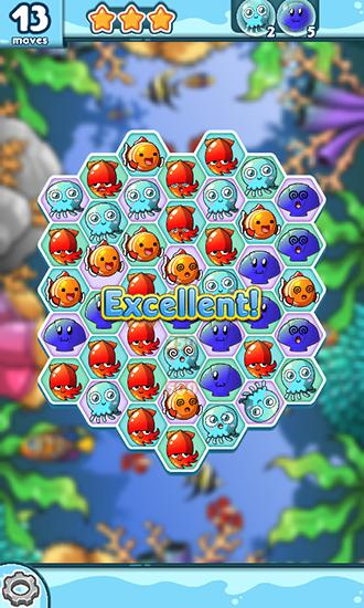 Screenshots von Ocean blast für Android-Tablet, Smartphone.