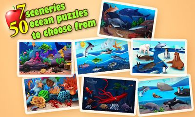 Screenshots of the Ocean Jigsaw Puzzles HD for Android tablet, phone.