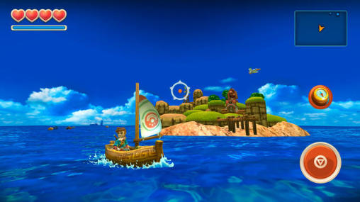 Скачати гру Oceanhorn: Monster of uncharted seas на Андроїд телефон і планшет.