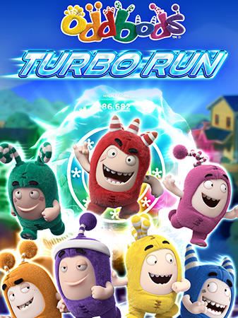 Oddbods turbo run обложка