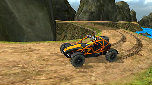 Screenshots von Off road 4x4 hill buggy race für Android-Tablet, Smartphone.