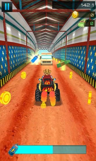Screenshots von Off road ATV: Monster trucks 3D für Android-Tablet, Smartphone.