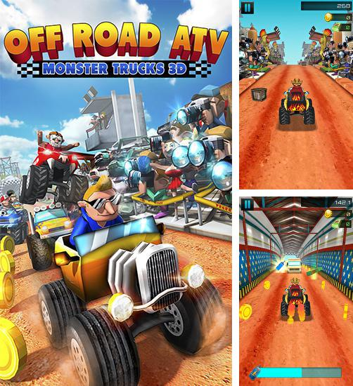 Off road ATV: Monster trucks 3D