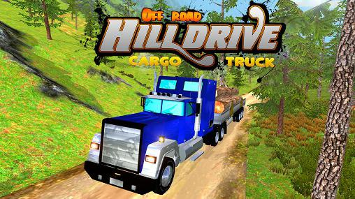 Off road hill drive: Cargo truck poster