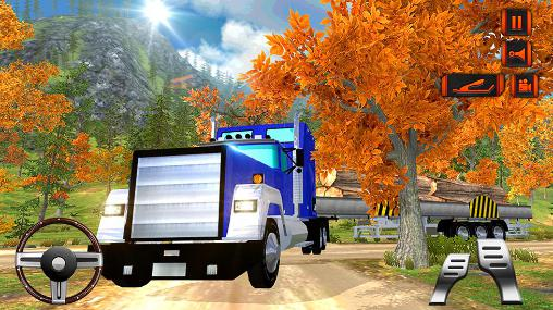 Download Off road hill drive: Cargo truck Android free game.