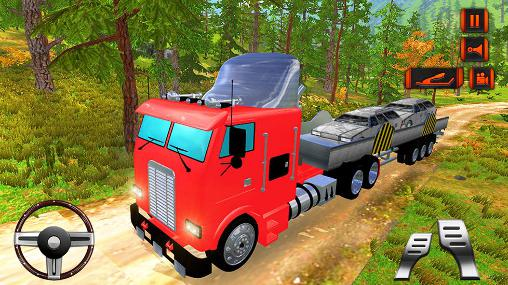Off road hill drive: Cargo truck скриншот 2
